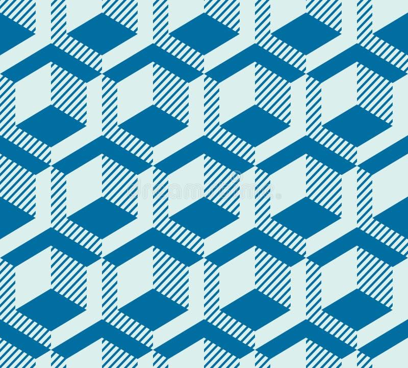 Графическая простая орнаментальная плитка, вектор повторила usi сделанное картиной бесплатная иллюстрация