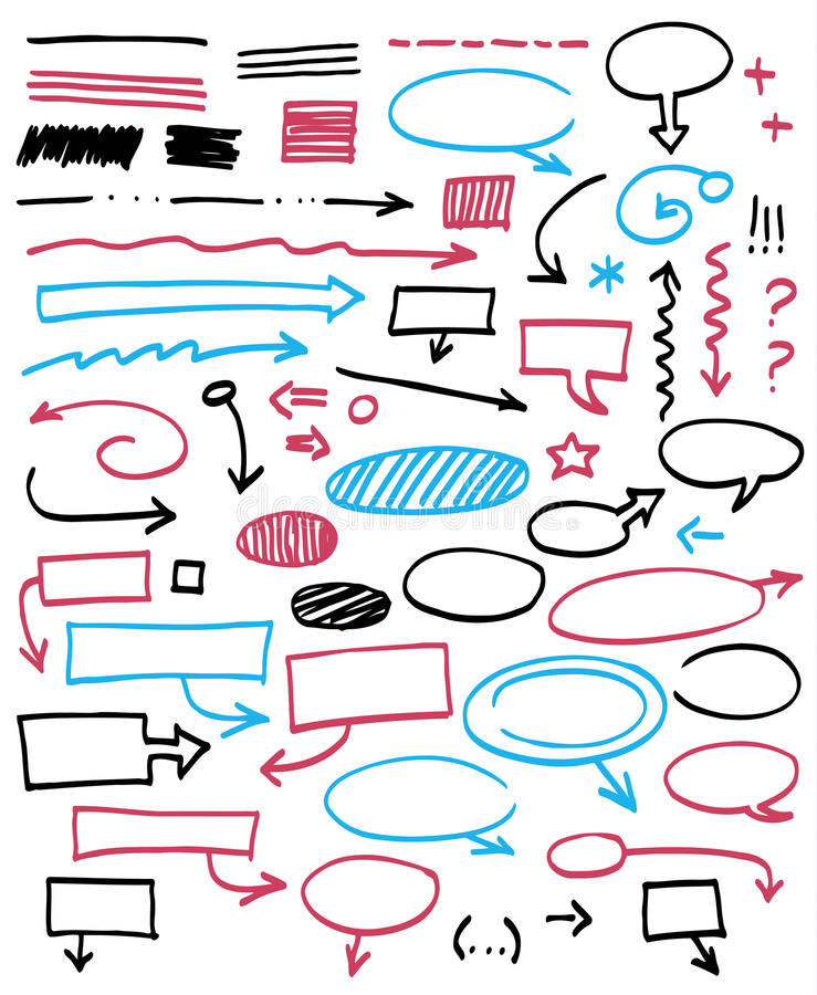 Графические знаки. бесплатная иллюстрация