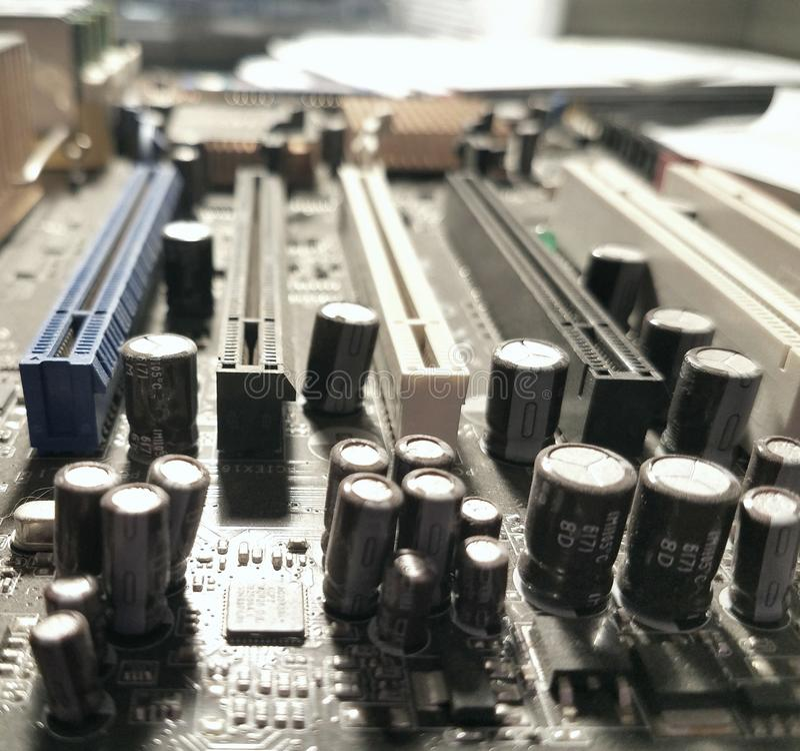 Графические конденсаторы стоковая фотография
