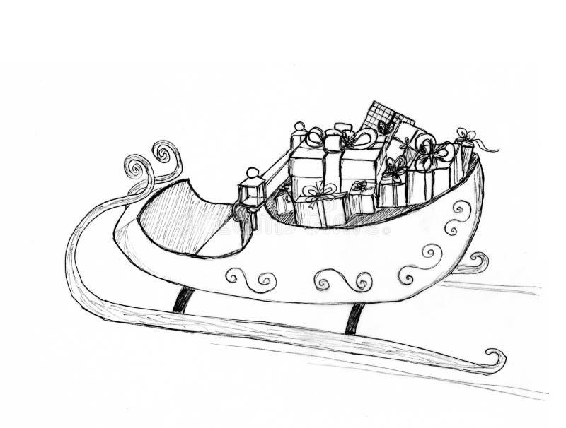 Графический эскиз иллюстрация штока