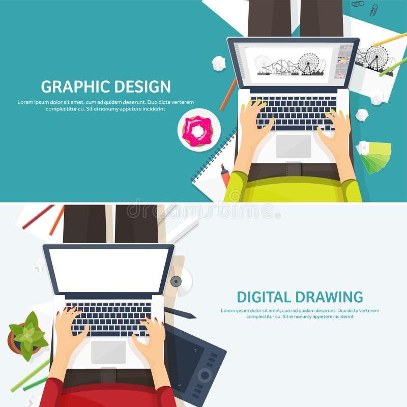 Графический веб-дизайн Чертеж и картина развитие Иллюстрация, делать эскиз к, независимый Пользовательский интерфейс Ui Компьютер бесплатная иллюстрация