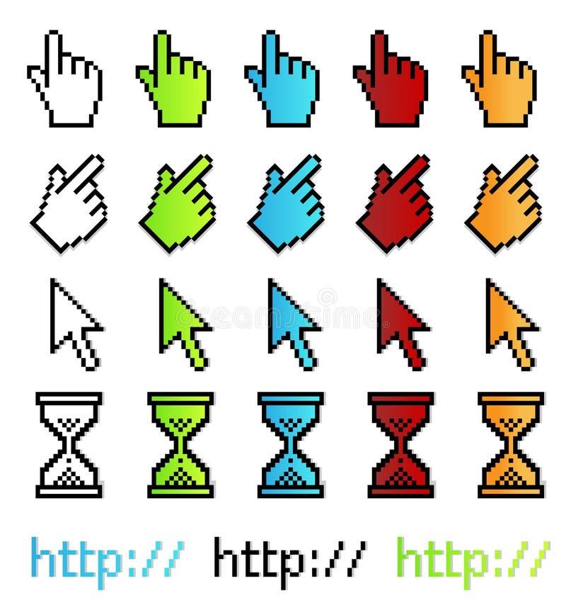 графический вектор указателей пиксела