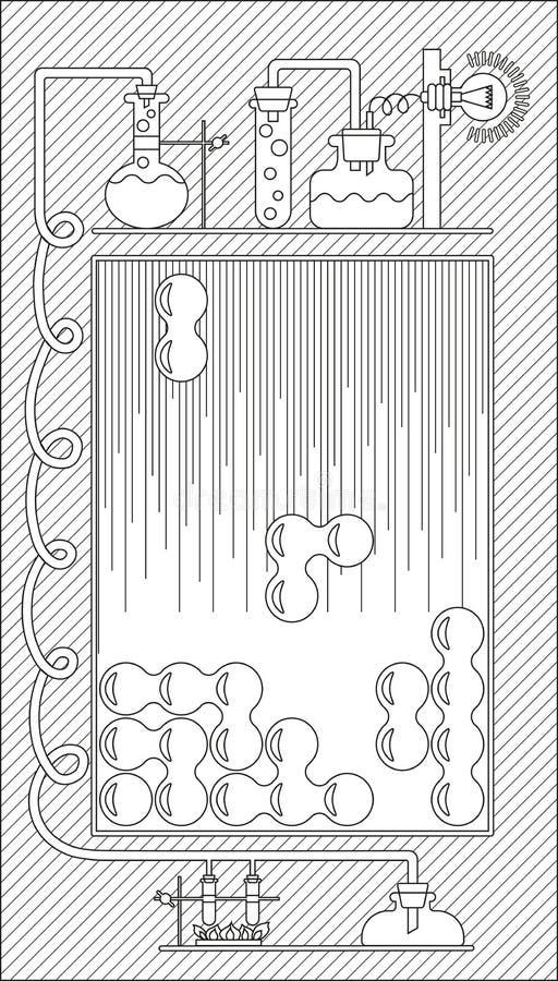 Графический интерфейс пользователя иллюстрация штока