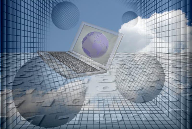 графический компьютер Стоковые Изображения