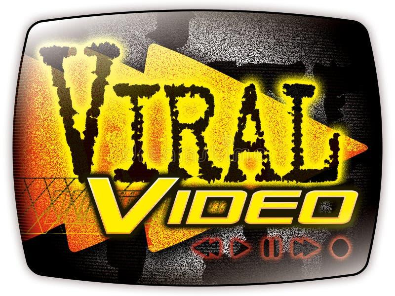 графическое видео- вирусное иллюстрация вектора