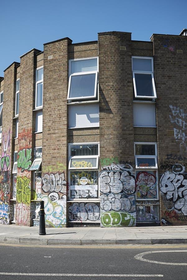 Граффити в фитиле Hackney стоковые фото
