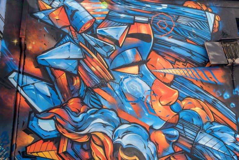Граффити 2 научной фантастики стоковые изображения