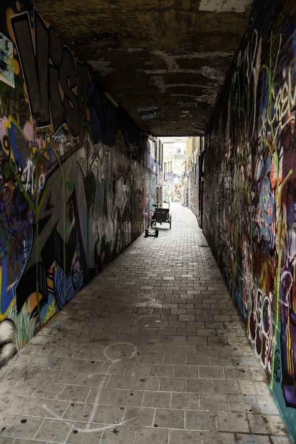 Граффити улицы в городе Гента стоковая фотография rf
