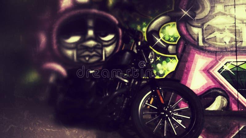 Граффити HD883 стоковые фото