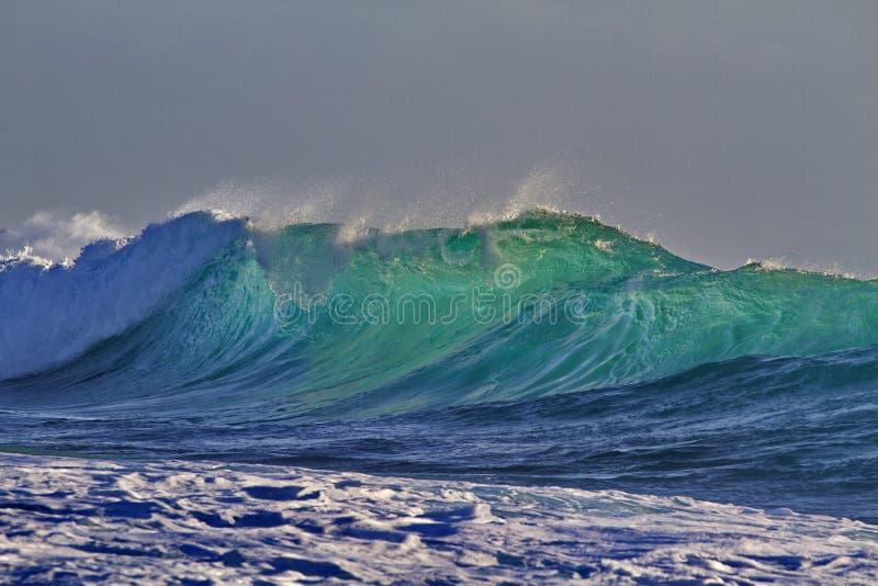 Грациозная волна Kalbarri в западной Австралии стоковое фото