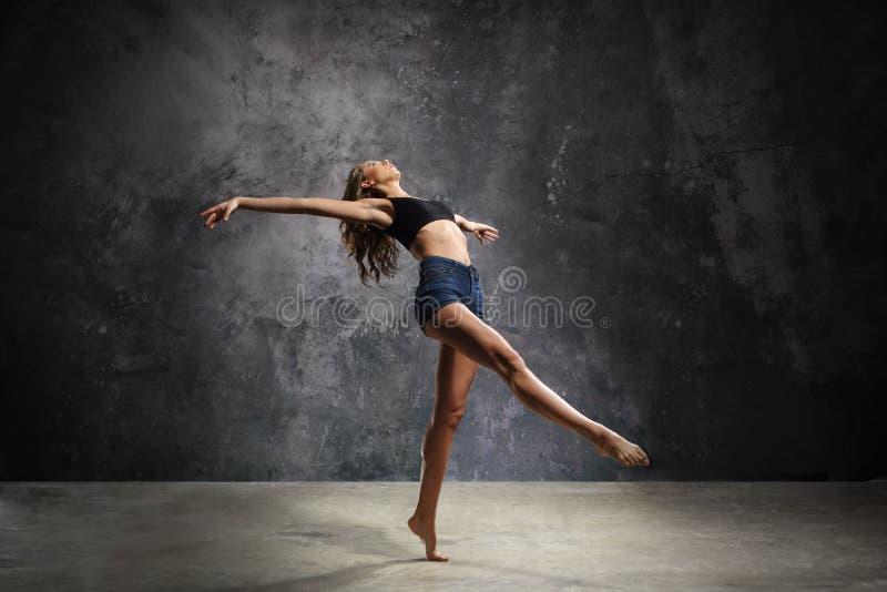Грациозно танцор стоковые изображения