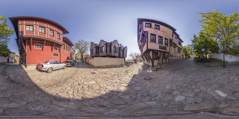 380 180 градусами сферически панорамы дома Lamartines внутри стоковое изображение rf