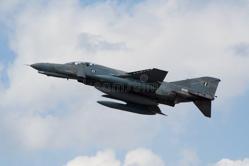 грек Военно-воздушных сил f4 стоковое изображение rf