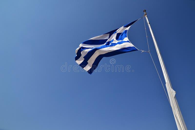 грек флага стоковые фото