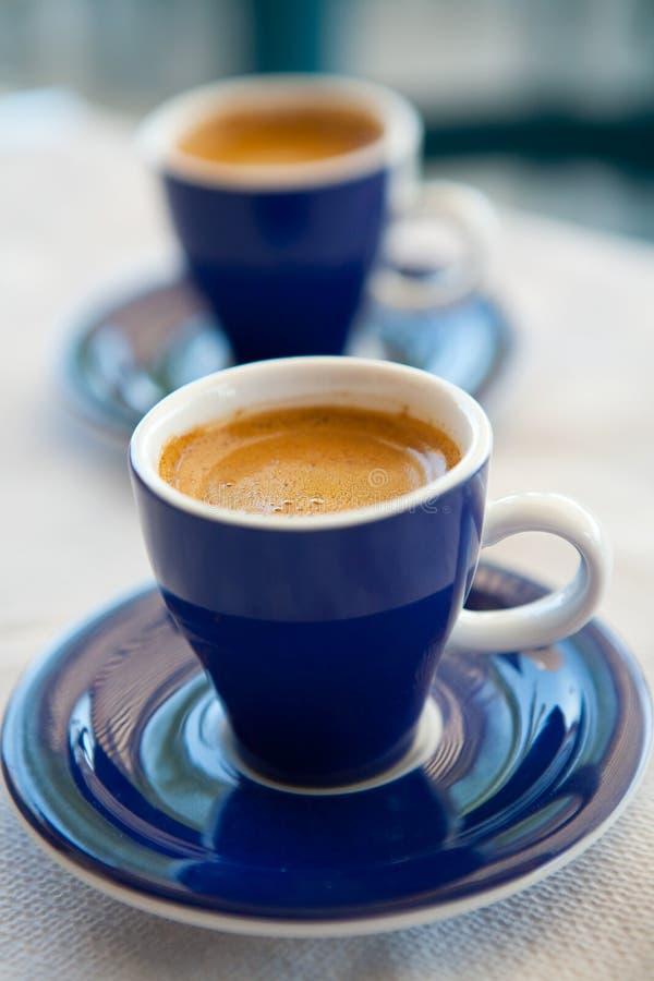 грек 2 кофейных чашек стоковые фото