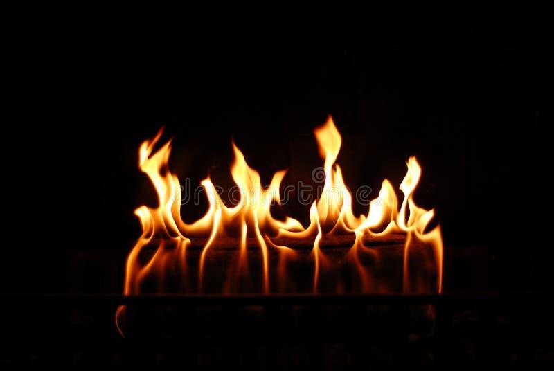 греть пожара стоковая фотография rf