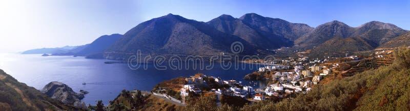 Греция Крит Деревня Бали стоковые изображения