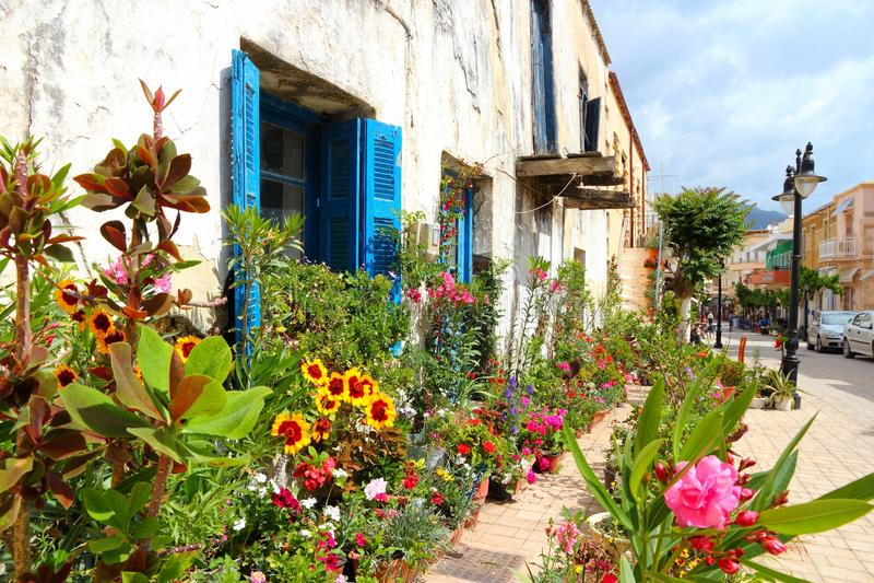 Греция - Крит стоковые фотографии rf