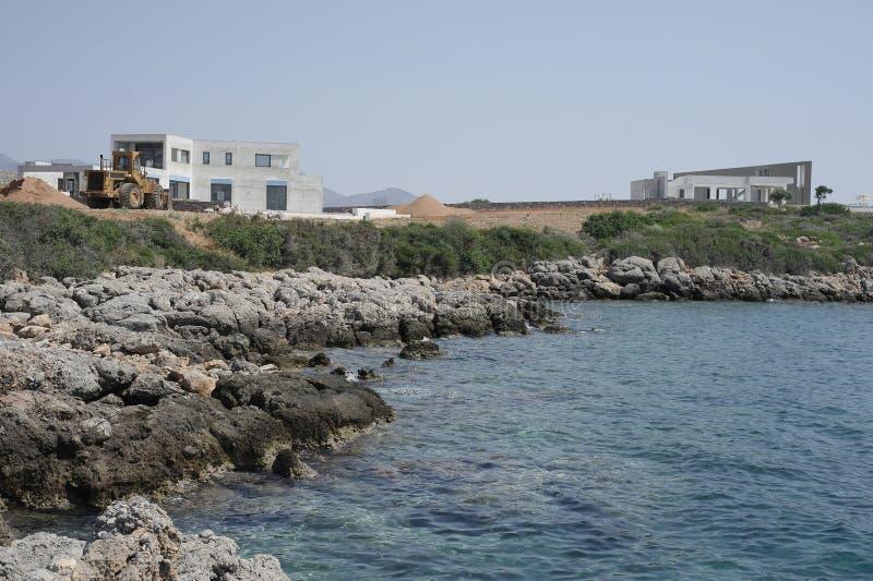 Греция, Крит, Amoudara Herakliou , конструкция стоковая фотография rf
