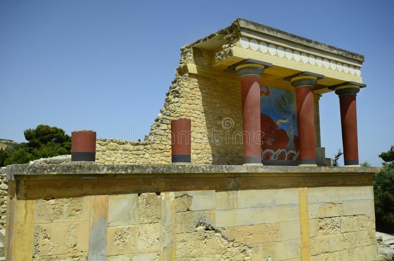 Греция, Крит, Knossos стоковая фотография
