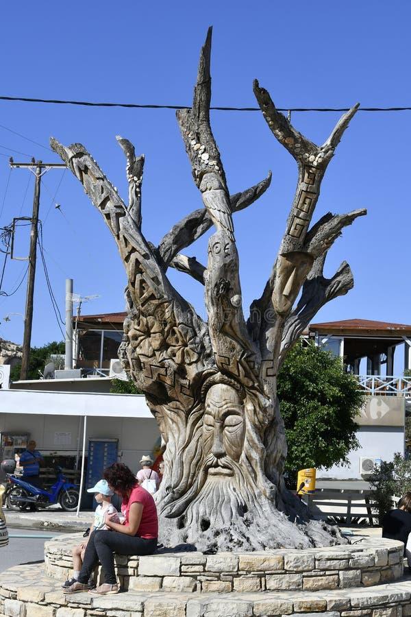 Греция, Крит, Matala стоковые изображения