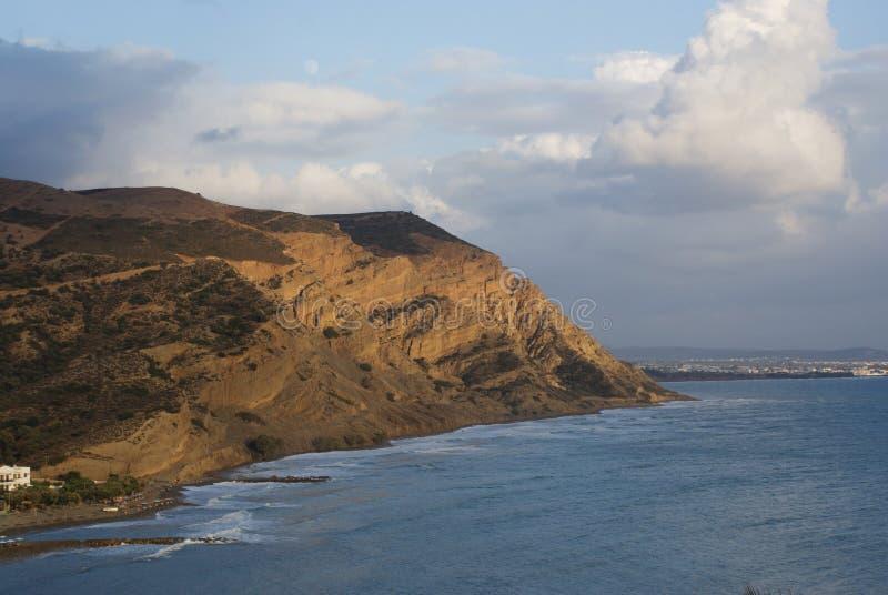 Греция, остров Крита, Agia Galini стоковые фотографии rf