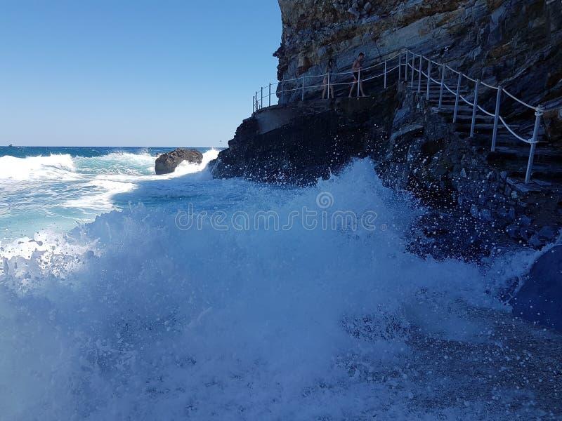 Греция Melapotamos эгейское стоковое фото rf