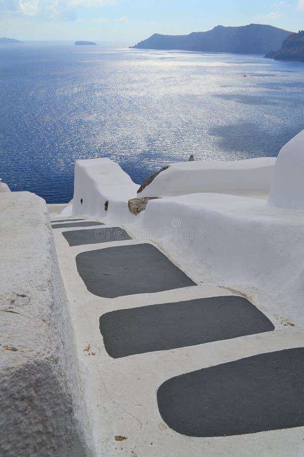 Греция, Santorini, Oia стоковая фотография rf