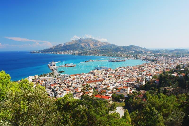 Греция zakynthos стоковое изображение rf