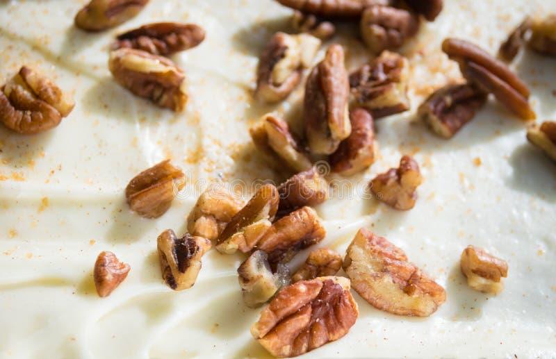 Грецкие орехи и замораживать стоковое изображение rf