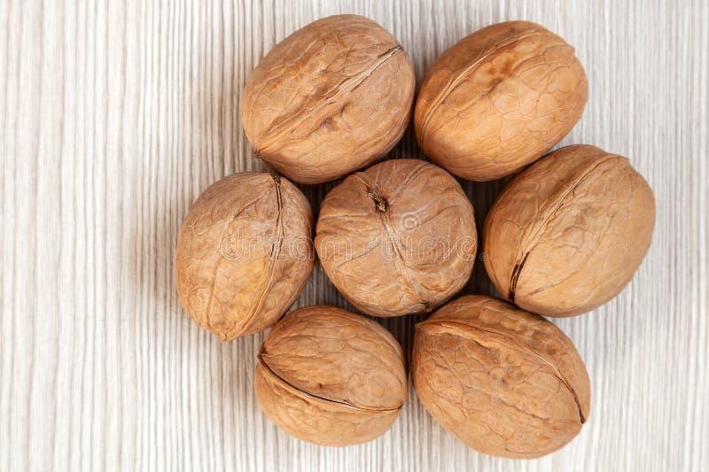 Грецкие орехи Inshell стоковое фото