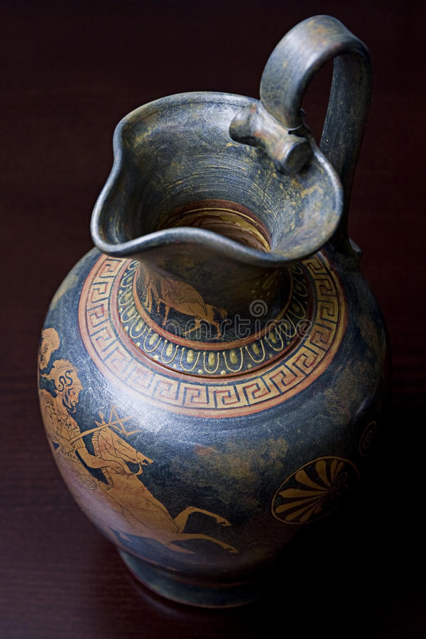 греческая ваза стоковые изображения