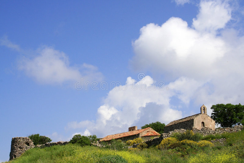 греческая весна острова стоковая фотография rf