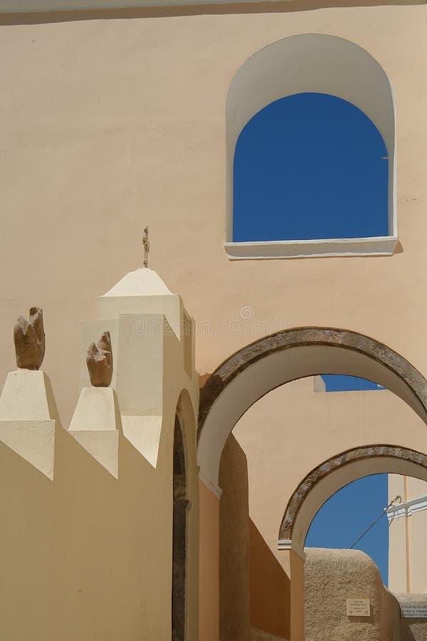 греческая улица стоковое фото