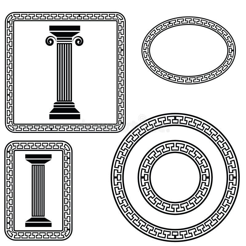 греческие символы бесплатная иллюстрация