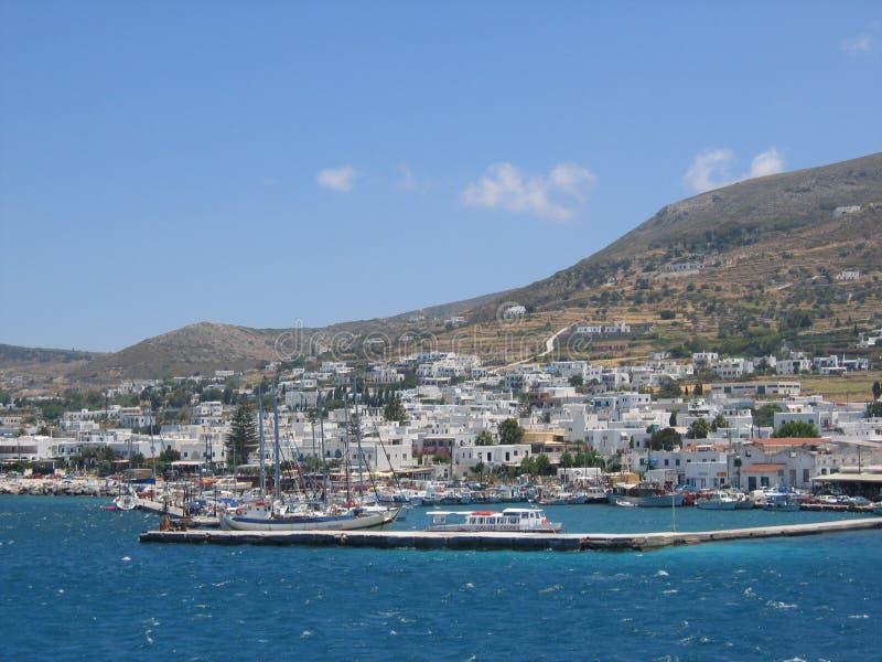 греческие paros острова стоковые изображения