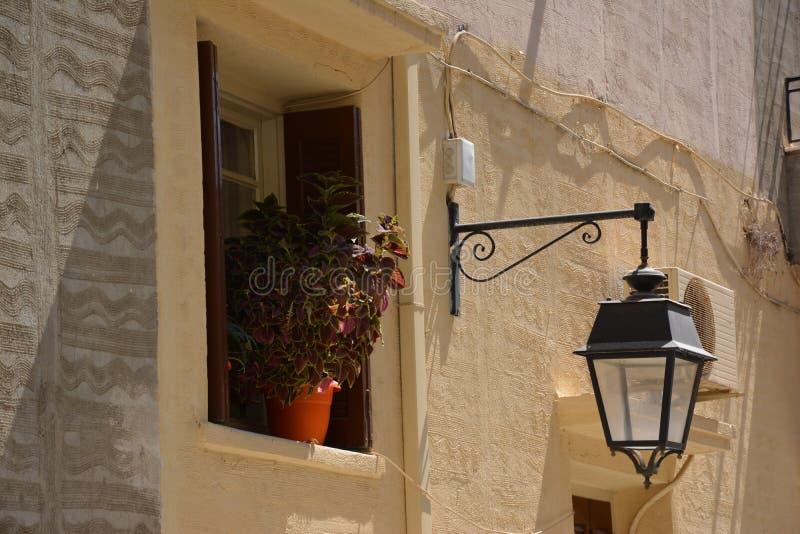 Греческий город стоковые фотографии rf