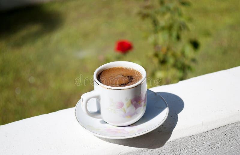 Греческий кофе стоковое изображение rf