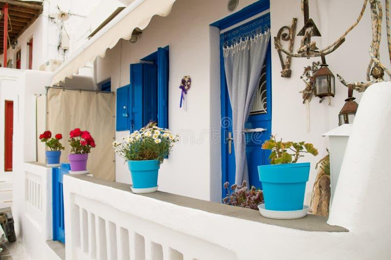 греческий дом стоковое фото rf