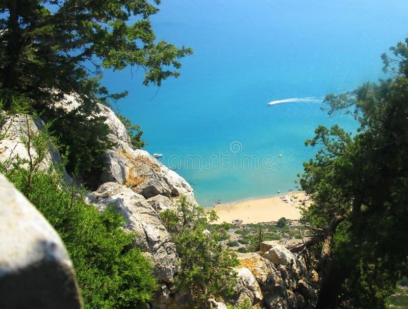 Греческий остров Родоса стоковое фото rf