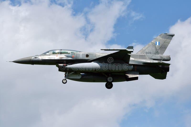 Греческий F-16 стоковое изображение rf