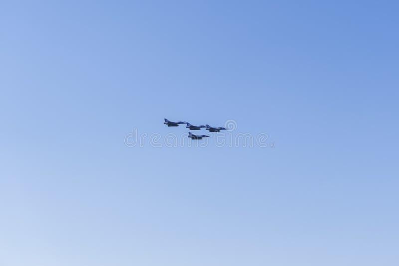 Греческое летание 2000 миража стоковое фото rf
