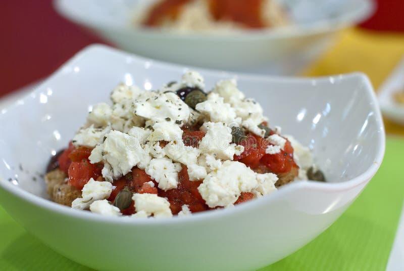 греческое salat стоковое изображение rf