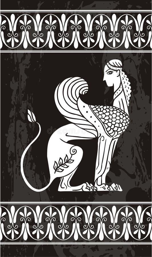 греческо иллюстрация штока