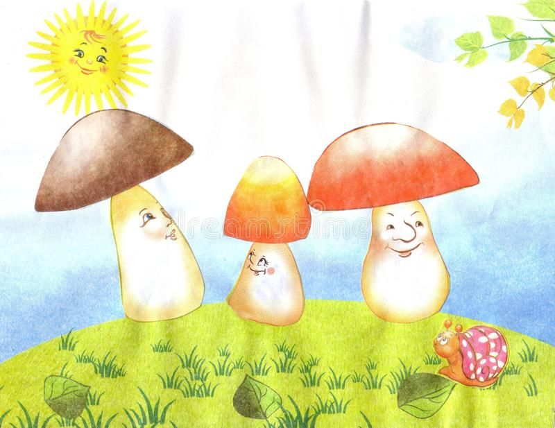 картинка солнышко цветок гриб она, большинстве случаев