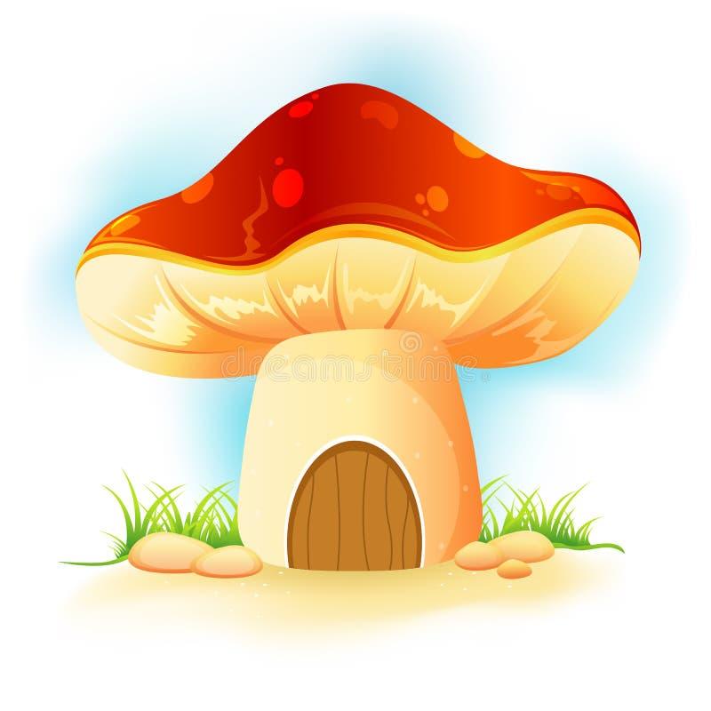 гриб сада домашний иллюстрация штока