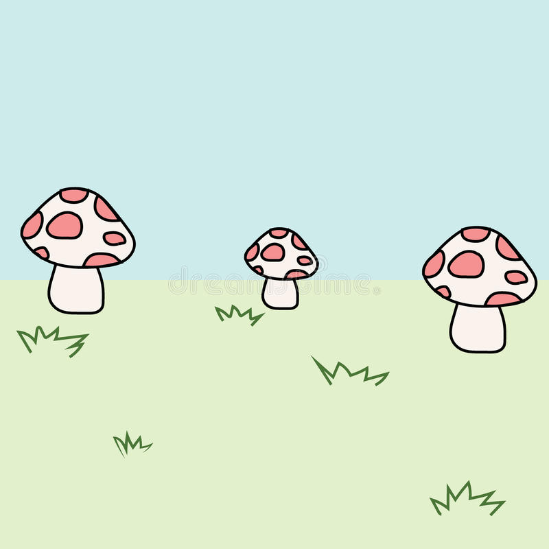 гриб иллюстрация штока