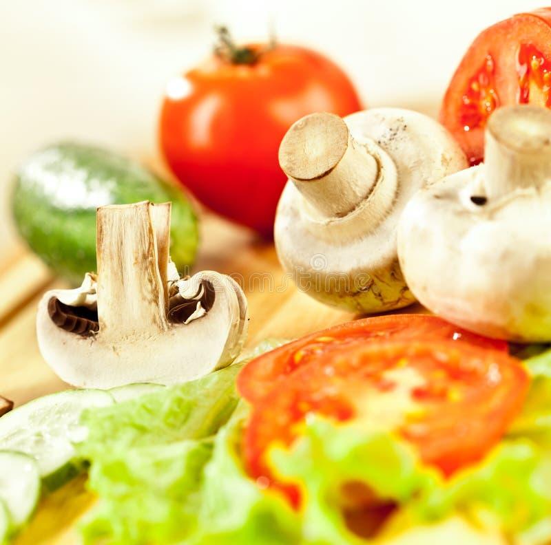 гриб champignon стоковое изображение
