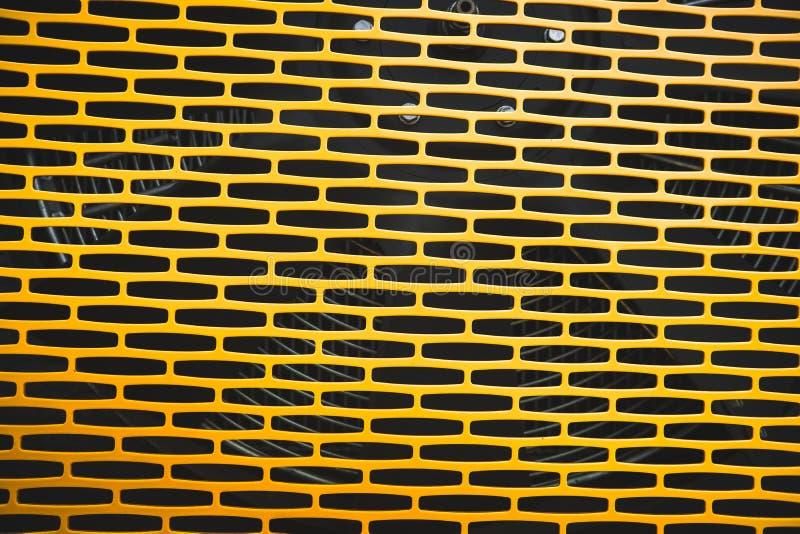 Гриль радиатора трактора стоковая фотография rf
