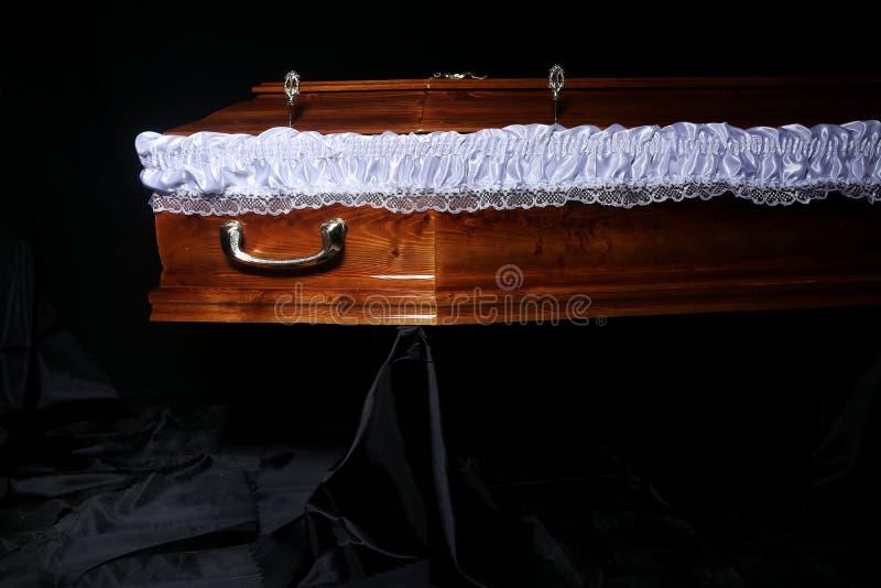Гроб Брайна, взгляд конца-вверх стоковое изображение